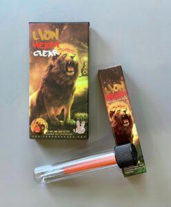 Buy Lion Heart Clear Carts Online   Buy Lion Heart Infused Pre Rolls Online