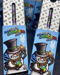 Buy Frosty's Snowcone Clear Carts Online