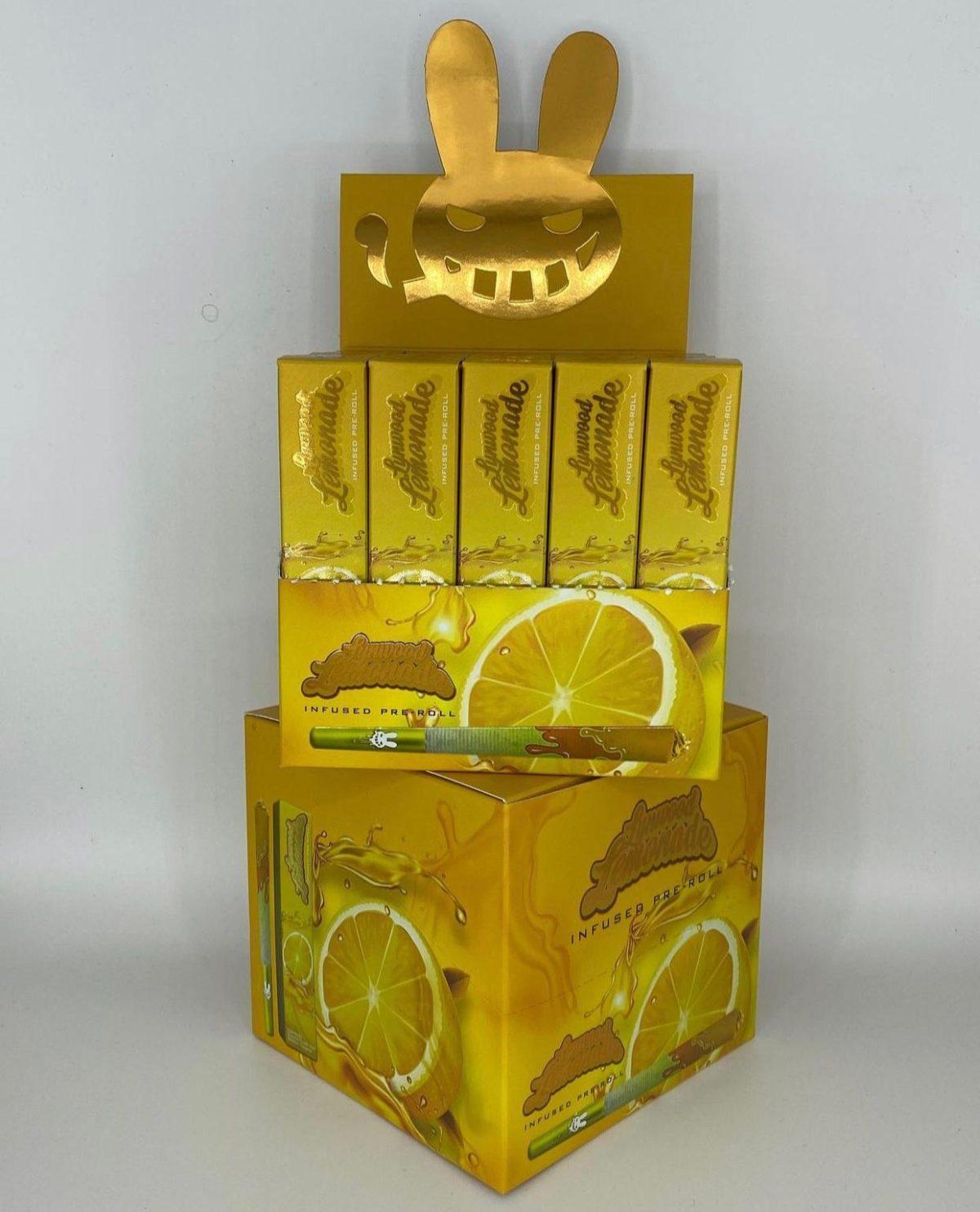 Buy Lynwood Lemonade Infused Pre Rolls