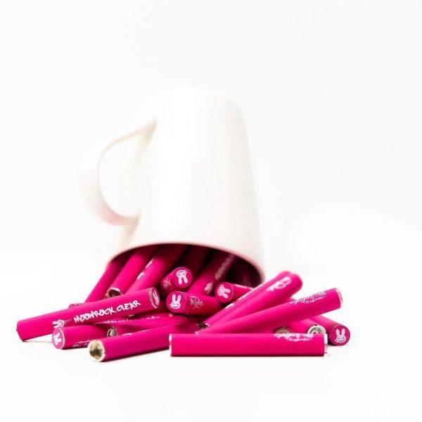 Buy Pink Moorocks Clear Battery Online