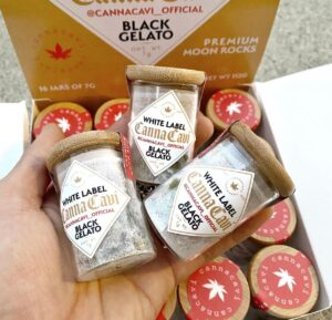 Buy Black Gelato Canna Cavi White Label Moon Rocks