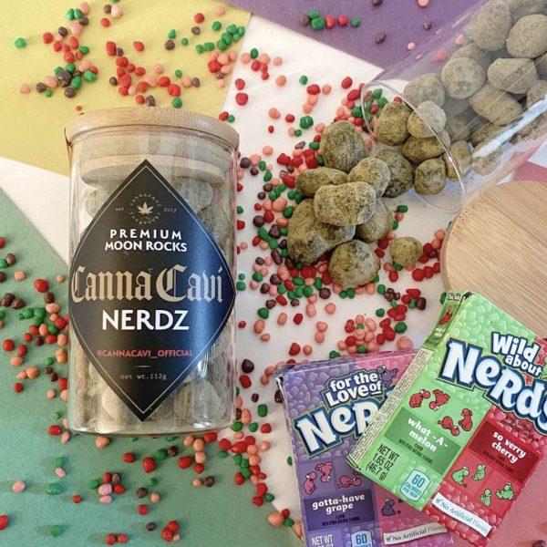 Buy Nerdz Canna Cavi Moon Rocks Online
