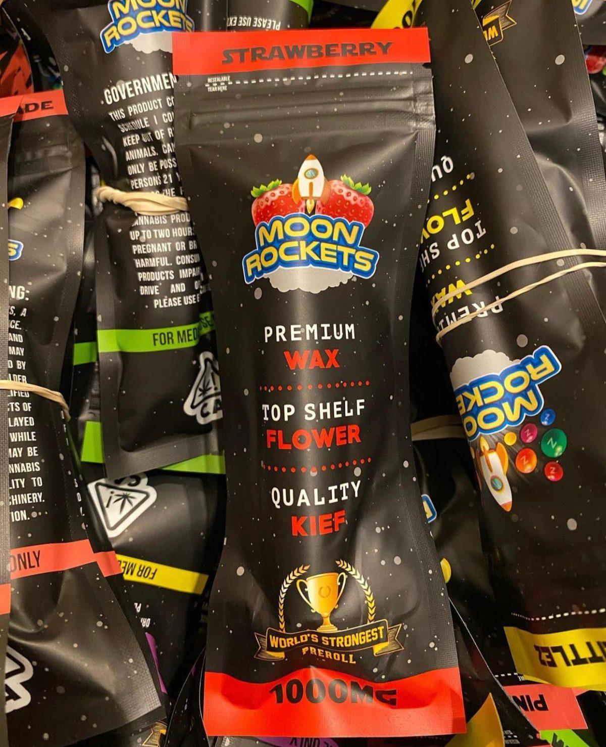Buy Strawberry Moon Rockets Pre Rolls Online